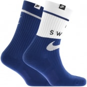 Product Image for Nike Two Pack Socks Blue