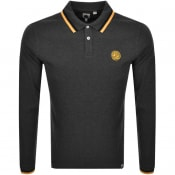 Product Image for Pretty Green Standard Long Sleeved Polo Grey