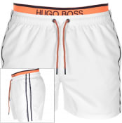 Product Image for BOSS HUGO BOSS Thornfish Swim Shorts White
