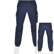 Product Image for Tommy Jeans Straight Cut Cargo Trousers Navy