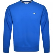 Product Image for Lacoste Live Crew Neck Sweatshirt Blue
