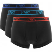 Product Image for Emporio Armani Underwear 3 Pack Boxer Trunks