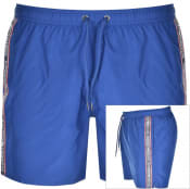 Product Image for Emporio Armani Taped Swim Shorts Blue