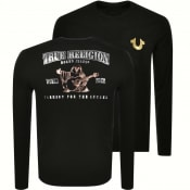 Product Image for True Religion Long Sleeved T Shirt Black