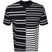 Product Image for BOSS HUGO BOSS Tames Stripe T Shirt Navy