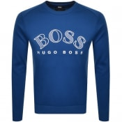 Product Image for BOSS Athleisure Salbo Circle Sweatshirt Blue
