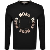 Product Image for BOSS Athleisure Salbo Circle Sweatshirt Black