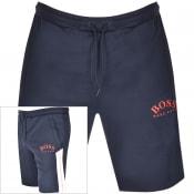 Product Image for BOSS Athleisure Headlo Logo Shorts Navy