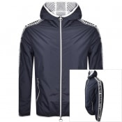 Product Image for Armani Exchange Logo Jacket Navy