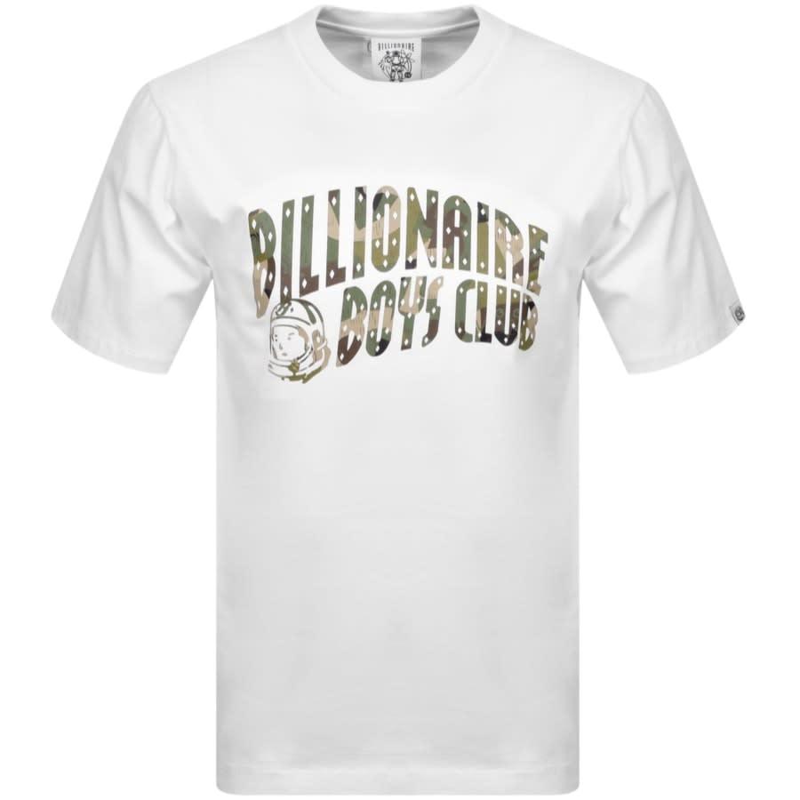 Billionaire Boys Club Arch Logo T Shirt White