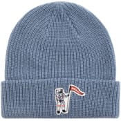 Product Image for Billionaire Boys Club Logo Beanie Hat Blue