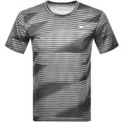 Product Image for Nike Training Dri Fit Logo T Shirt Black