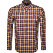 Product Image for Fred Perry Gingham Check Shirt Gold