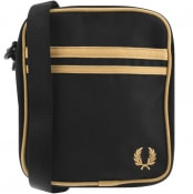 Product Image for Fred Perry Twin Tipped Side Bag Black