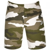 Product Image for Nike Club Camo Logo Shorts Green