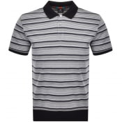 Product Image for PS By Paul Smith Stripe Jersey Polo T Shirt Black