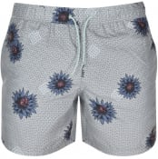 Product Image for Farah Vintage Colbert Floral Swim Shorts Green