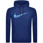 Product Image for Nike Training Dri Fit Swoosh Hoodie Blue