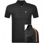 Product Image for Luke 1977 Princey Overprinted Polo T Shirt Black