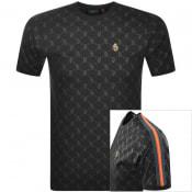 Product Image for Luke 1977 Top Irons Logo T Shirt Black