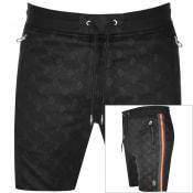 Product Image for Luke 1977 Kid Dynamite Overprinted Shorts Black