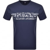 Product Image for BOSS Athleisure Tee 14 Short Sleeve T Shirt Navy