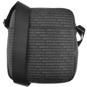 Product Image for Armani Exchange Logo Shoulder Bag Black
