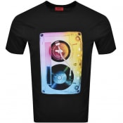 Product Image for HUGO Dours T Shirt Black