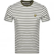 Product Image for Lyle And Scott Breton Stripe T Shirt Green