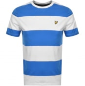 Product Image for Lyle And Scott Wide Stripe T Shirt Blue