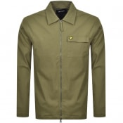 Product Image for Lyle And Scott Long Sleeved Twill Overshirt Green
