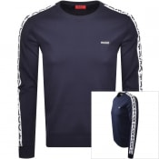 Product Image for HUGO Doby 202 Sweatshirt Navy