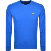 Product Image for Lyle And Scott Crew Neck Sweatshirt Blue