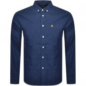Product Image for Lyle And Scott Long Sleeved Indigo Shirt Blue