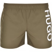 Product Image for HUGO ABAS Swim Shorts Green