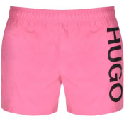 Product Image for HUGO ABAS Swim Shorts Pink