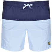 Product Image for Lyle And Scott Half Split Swim Shorts Navy