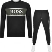 Product Image for BOSS Bodywear Authentic Tracksuit Black