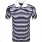 Product Image for Vivienne Westwood Short Sleeved Polo T Shirt Navy