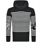Product Image for True Religion Buddha Stripe Hoodie Black