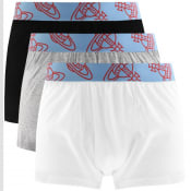 Product Image for Vivienne Westwood Three Pack Boxer Trunks White