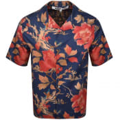Product Image for MCQ Alexander McQueen Short Sleeved Shirt Blue