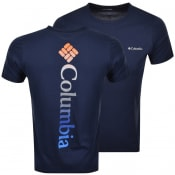 Product Image for Columbia Rapid Ridge T Shirt Navy