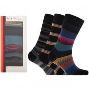 Product Image for Paul Smith Triple Pack Of Socks Gift Set Black