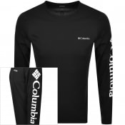 Product Image for Columbia North Cascades Long Sleeved T Shirt Black