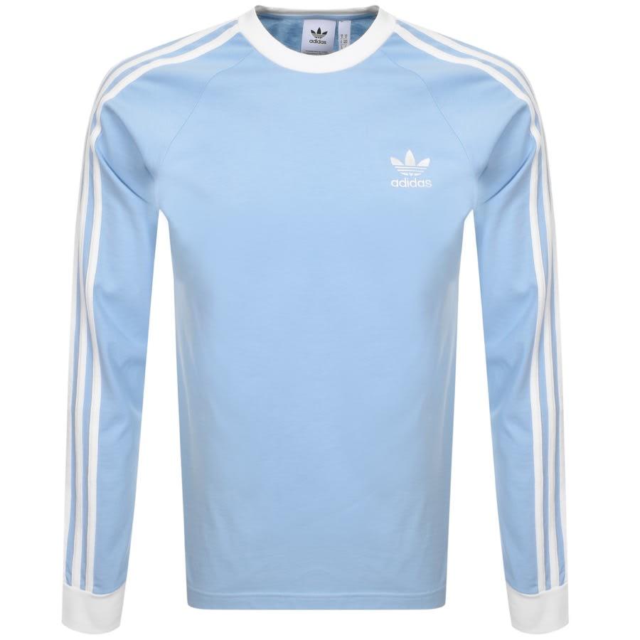 blue adidas t shirt