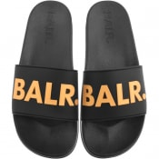 Product Image for BALR Logo Sliders Black