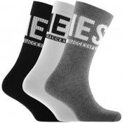 Product Image for Diesel SKM RAY Three Pack Socks Grey