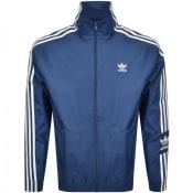 Product Image for adidas Originals Lock Up Full Zip Jacket Navy