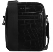 Product Image for Ted Baker Buklup Leather Flight Bag Black